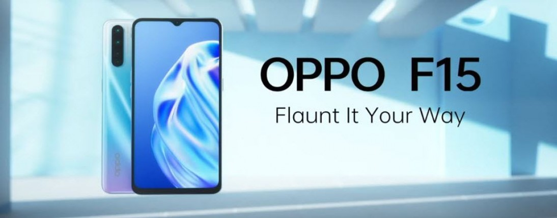 Oppo F15 - Launch in India, Price, Feature Specifications
