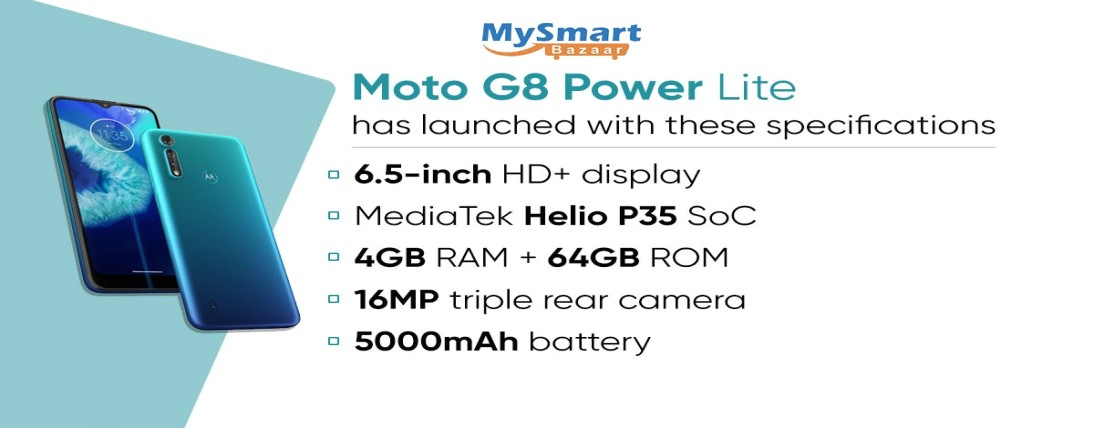Moto G8 Power Lite propelled with triple cameras, 5,000 mAh battery: value, specs, features and acce