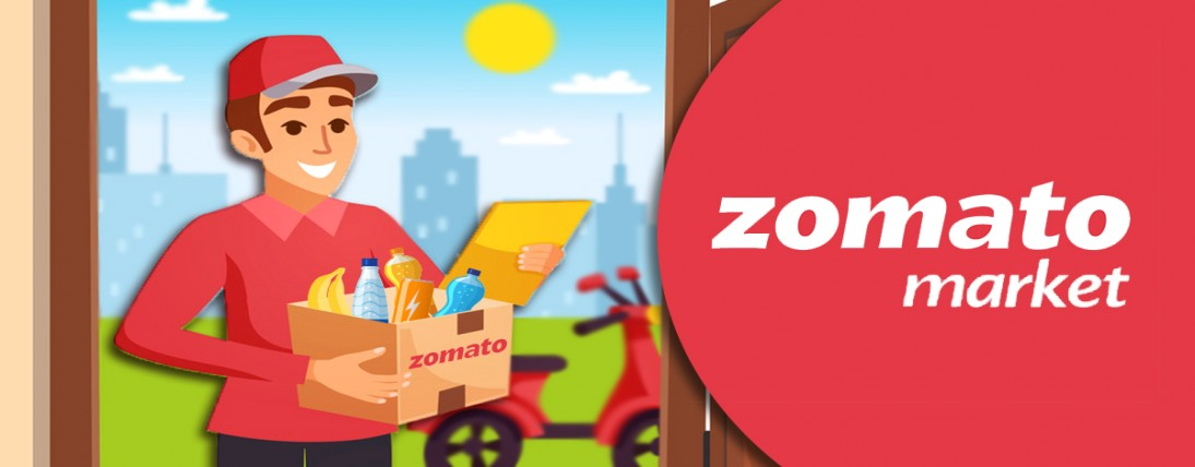 Zomato Market basic food item conveyance administration propelled in India in the midst of coronavir