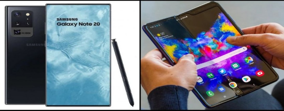 Samsung Galaxy Note 20 and Galaxy Fold 2 May delayed Despite Coronavirus Outbreak and launch in Augu
