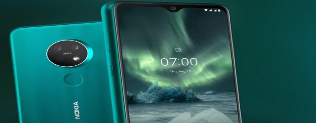 Nokia 7.3 mobile may available with a 64MP quad camera