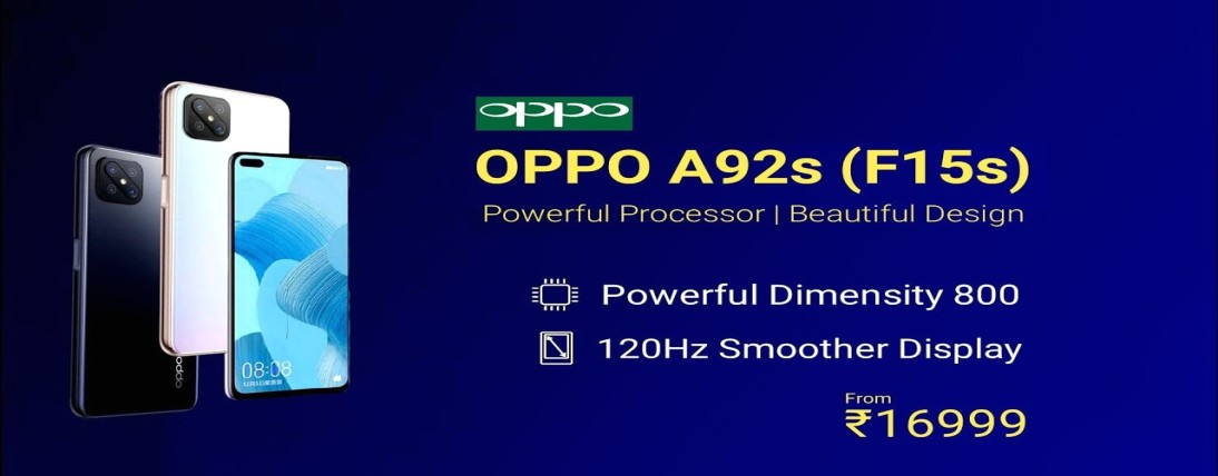 OPPO A92s reported with 120Hz value, specs, features etc