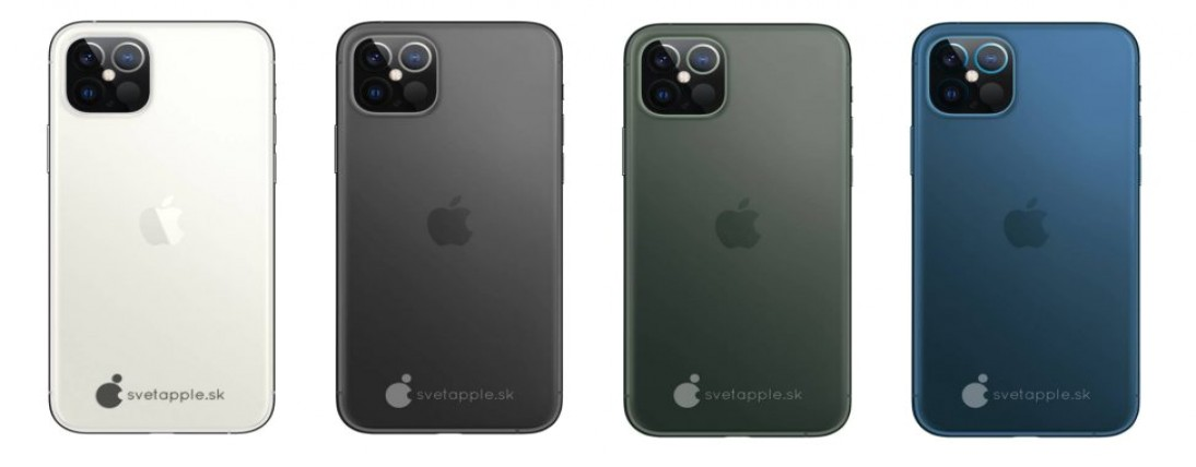 iPhone 12 renders show iPad Pro-like plan, see them here