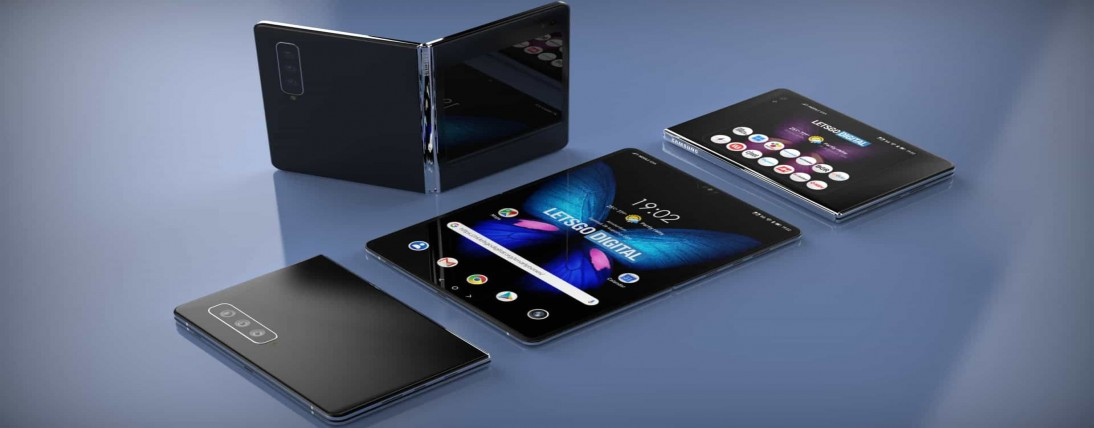 Samsung Galaxy Fold 2 render uncovers conceivable structure