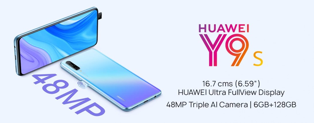 Huawei Y9s gets product details page on Amazon, India launch soon