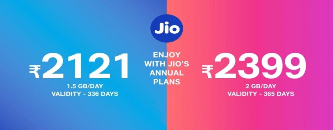 Jio Rs 2,399 Work From Home Prepaid recharge, new Rs 151, Rs 201