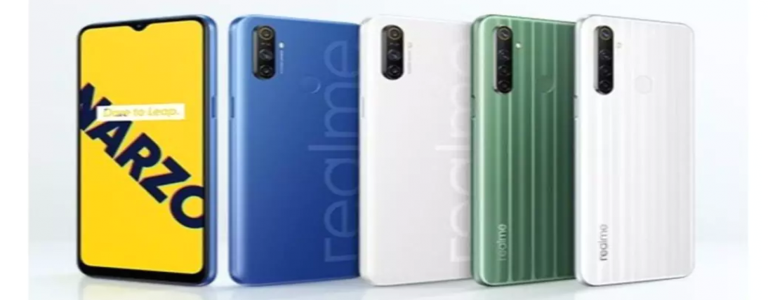 Realme Narzo 10 propelled in India with MediaTek G80 SoC and 48MP