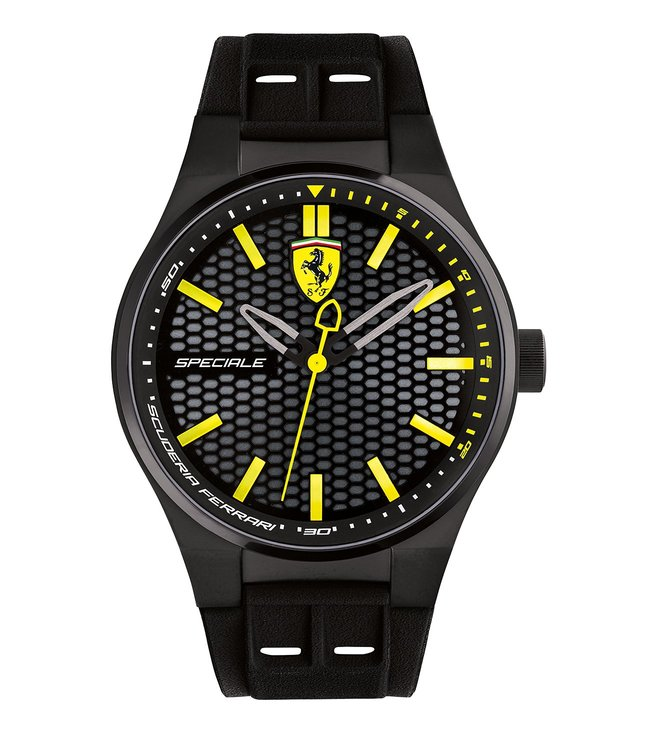 Ferrari 0830354 Speciale Black Dial Watch for Men
