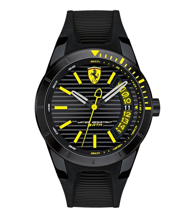 Ferrari 0830426 Red Rev T Black Dial Watch for Men
