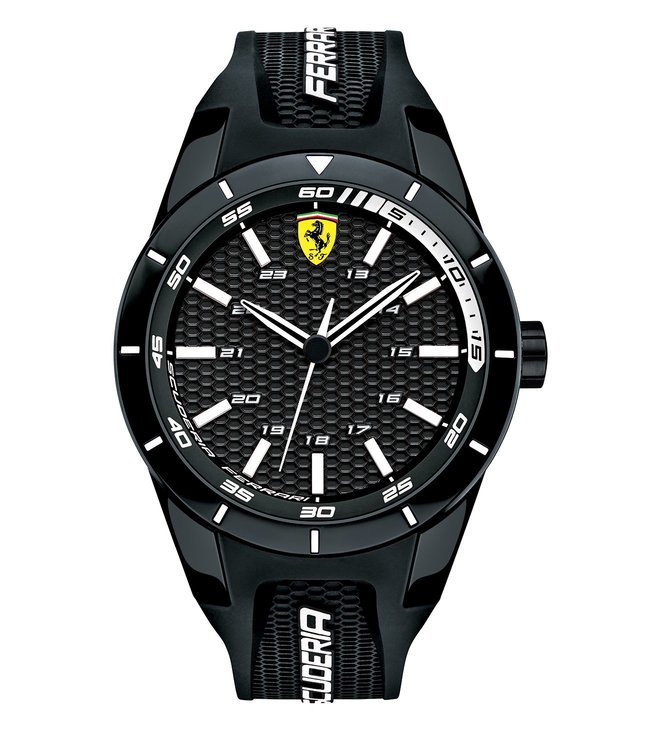 Ferrari 0830249 Red Rev Black Dial Watch for Men
