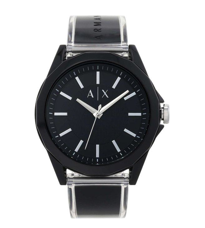Armani Exchange AX2629 Drexler Black Dial Watch for Men