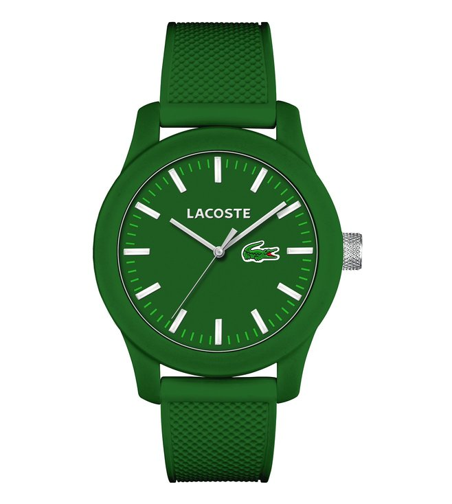 Lacoste 2010763 L.12.12. Green Dial Watch for Men