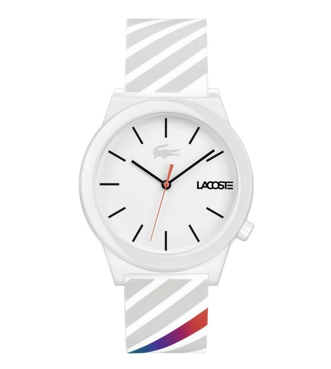 Lacoste 2010935 Motion White Dial Watch for Men